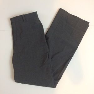 GAP classic fit trousers gray stretch 1
